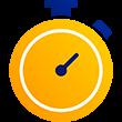 Illustration of a stopwatch.
